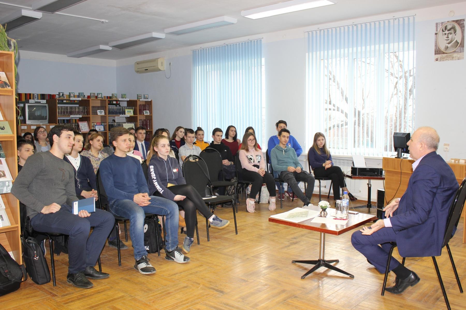 Встреча  П.А. Павлова с молодежью